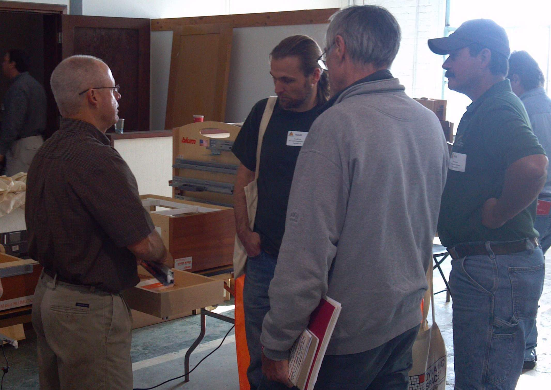 At the Cabinet Makers Association Meeting