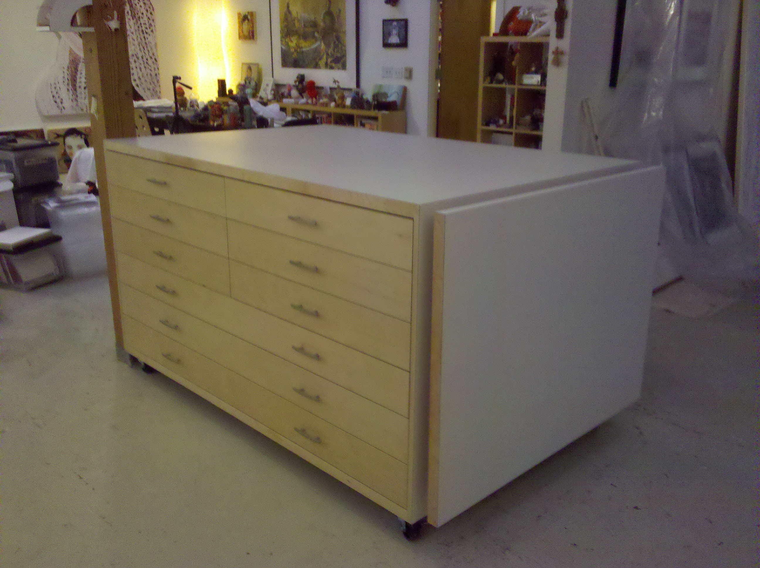 Big Drawers | Art community | Rivendell Woodworks