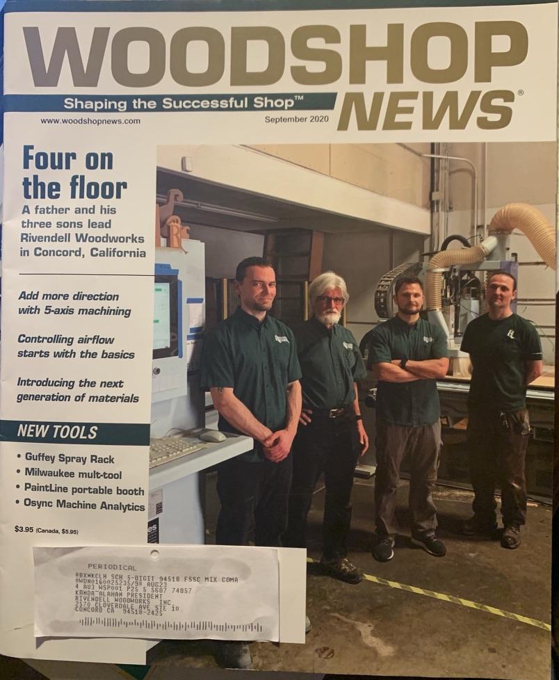 Woodshop News Cover Story